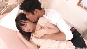 Arousing Asian Teen, Ami Hyakutake Gets Facial After 69
