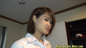 Beautiful Sex With 18 YO Asian - Arranya - Anal
