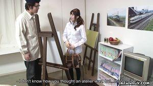 JapanHDV - I Blow What I Draw Sakura Saya Sc1