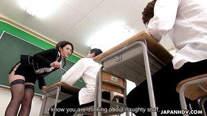 Japanhdv - Hot Teacher Julia Nanase scene1