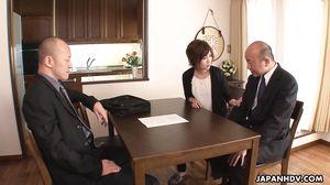 JapanHDV - Cheating Wife Kaede Oshiro scene1