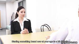 New Office Lady Ai Kamijou Sc1